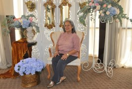 Celebración al estilo barroco para doña María Esther