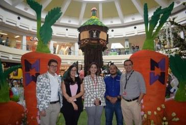 "Mall Multiplaza lanza su icónica zona infantil ""Easter Village"""