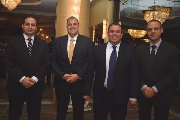 Edgardo Larach, Sergio Stefan, Raúl Faraj y José Boadla