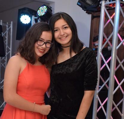Elisa Arita y Belén Naranjo.