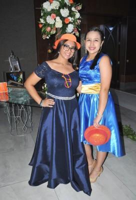 Emily Cuestas y Joselyn Fiallos