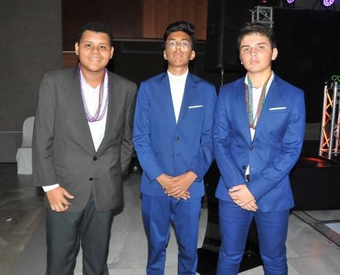 Fernando Batrez, Carlos Rivera y Arturo Hernández