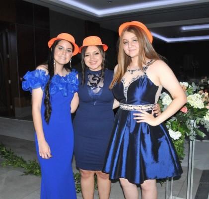 Fiorella Lagos, Mirtza García y Paulette Meléndez