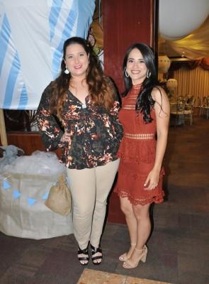 Keyla Rivera y Cindy López
