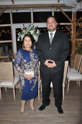 Los padrinos de boda, Brenda Palma y Ludovico Pazzetti