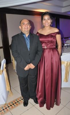 Los padrinos de boda, Xiomara Rajo y Alexis Zuniga