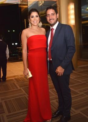 Michelle Marzán y Pablo Suazo