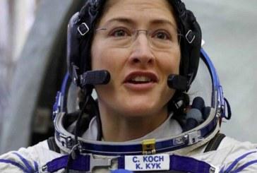 Astronauta de la NASA fijará récord para una mujer en el espacio