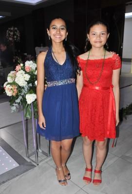 Samantha Torres e Ilka Aguilar