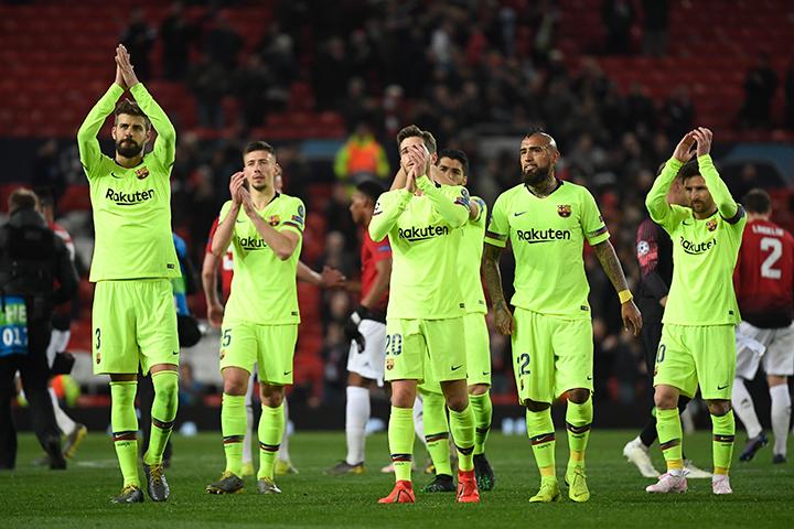 Barcelona venció por primera vez en la historia al Manchester United en su casa