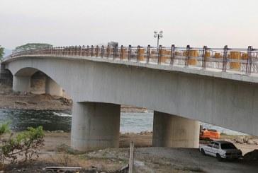 El próximo lunes habilitarán puente sobre el río Humuya en Santa Rita