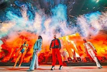 Selena Gomez hizo un regreso triunfal al escenario con Ozuna y Cardi B
