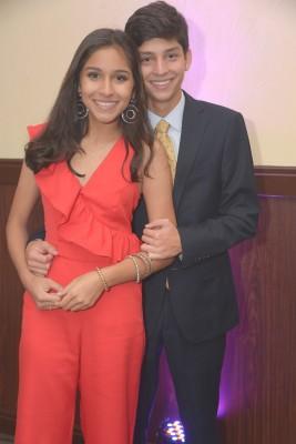Alyssa Montes y Miguel Ángel López