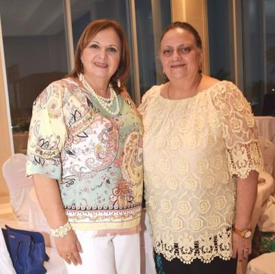 Ana Leyla Sikaffy y Lucena Kawas.