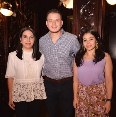 Andrea Silvestri, Eduardo Umanzor y María José Rivera