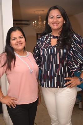 Andrea Umaña y Danelia Norris.