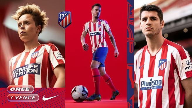 Atlético de Madrid presenta el diseño de su nueva camiseta para la próxima temporada