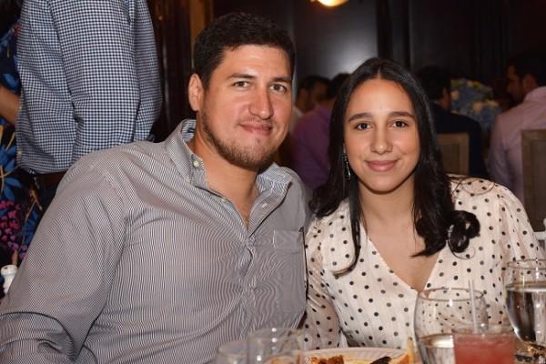 Brenda Echeverri y Gerardo Echeverri