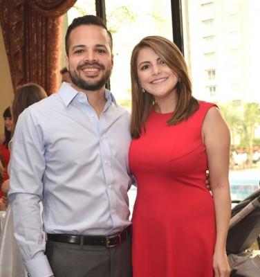 Carla Marisa Milla de Suazo y Julio Enrico Suazo