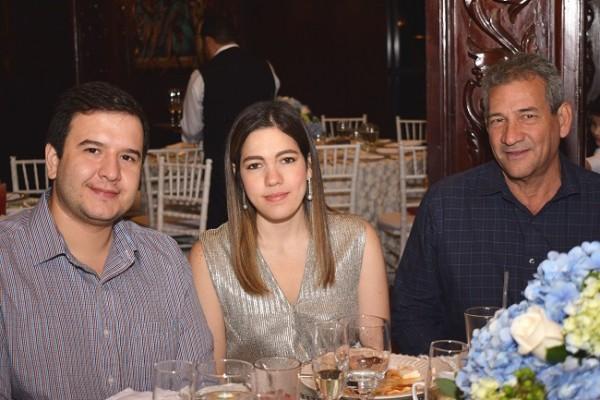 Christian Collier, Cecilia Victoria Prieto de Collier y Joaquín Prieto