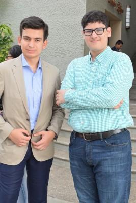David Yánes y Axel Hernández.