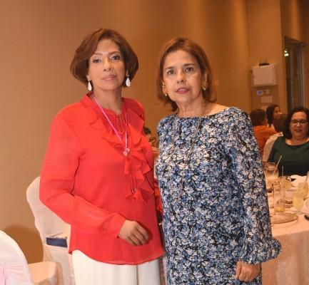 Digna Coello y Bárbara Rivera.