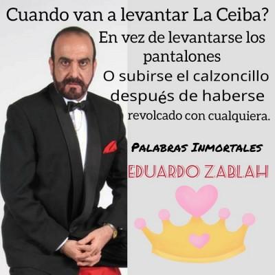 """El controversial """"Gallo Zablah"""" y su show"""
