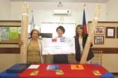 Fundación CRISAQ recibe importante donativo de China Taiwan