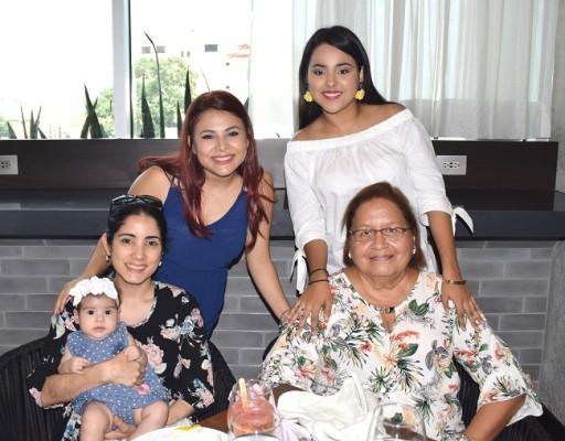 Familia Caballero-Cerella.