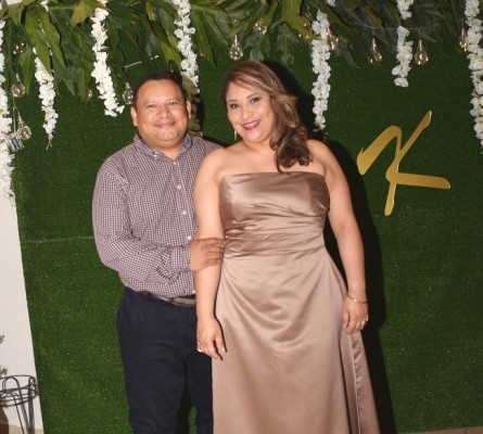 Fanny Baquedano y Mario Estrada