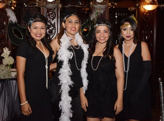 Gabriela Montoya, Ivania Villanueva, Simoné Orellana y Victoria Solano