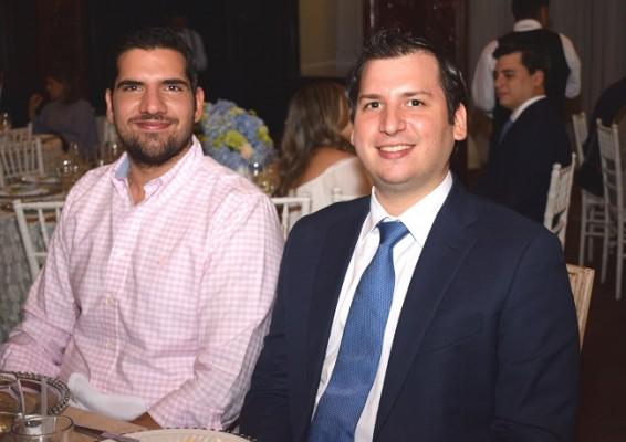 Jacobo Handal y Joaquin Echeverri