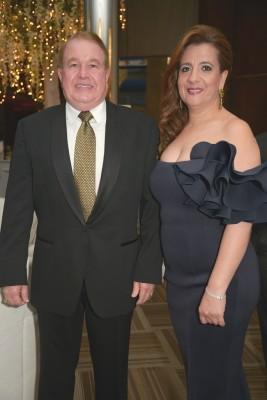 Jacqueline y Afif Dieck.