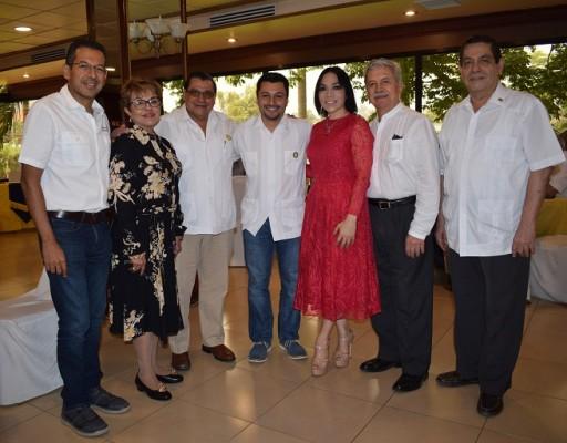 Reunion de confraternidad difrutaron los socios del Club Rotario San Pedro Sula.