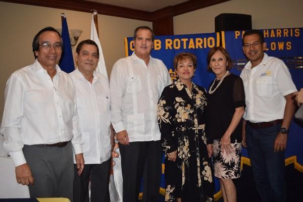 Víctor Manuel Rodríguez, Edgardo Valerio, Julio Grazioso, Santa Euceda, Mitti Sabillón y Cesar García.