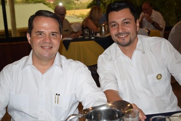 Juan Carlos Gamero y Alex Erazo.