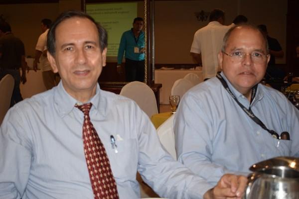 Darío Rivera y Sergio Erazo.