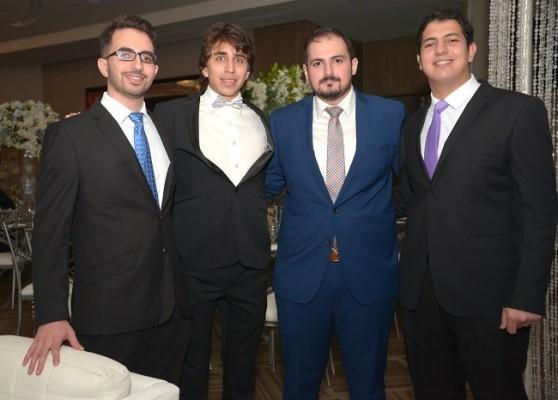 Kamil Segebre, Daniel Olmedo, Javier Segebre y Juan Segebre.