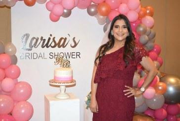 La historia de amor de Larissa Noriega en su Bridal Shower