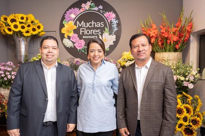 Distribuidora Muchas Flores HN apertura tienda en San Pedro Sula