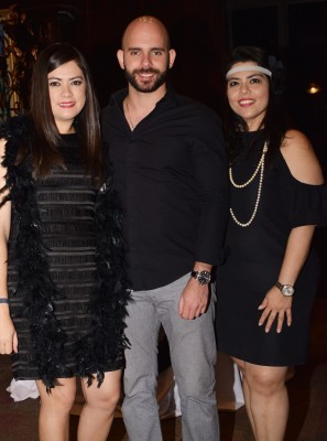 Lizeth Altamirano, Anton Fanous y Alejandra Cruz