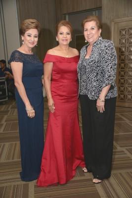Lizeth Nassar, Rabab Handal y Rita Simón
