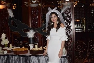 Alexandra Zgheibra despide su soltería al estilo gatsby