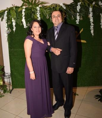 Luz Idalia y Óscar Gutiérrez