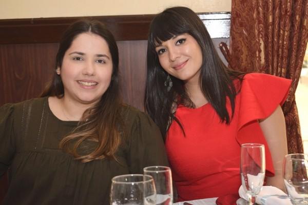 Michelle Lesage y Raquel Paz