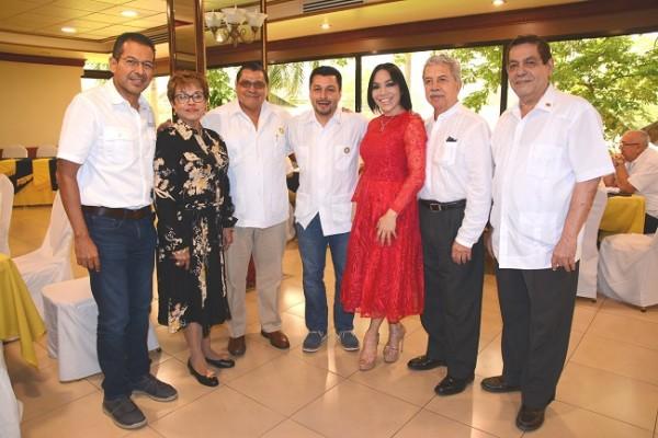 Miembros del Club Rotario San Pedro Sula.