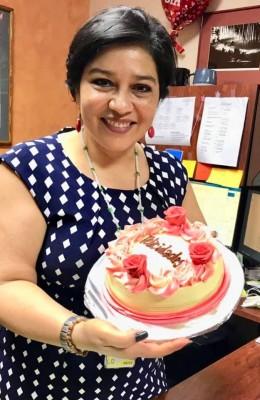 Muy festejada por su cumpleaños la especial Ledy Pacheco