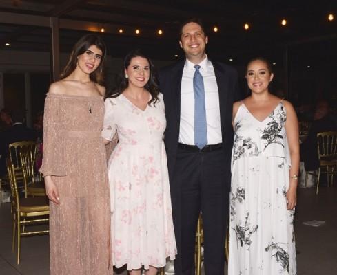 Natin Chahín, Roxana Rosen, Jason Rosen y Alejandra Soto
