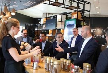 Hernández: Visita a Nestlé ha sido exitosa para beneficio de la caficultura hondureña