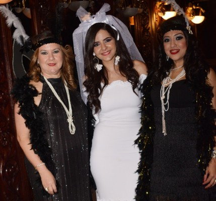 Norma de Restrepo, Alexandra Zgheibra y Karla Taracena
